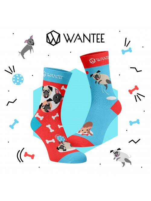 Ponožky Hraví Pejsci Wantee