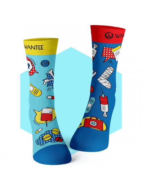 Ponožky Medical Pop Wantee