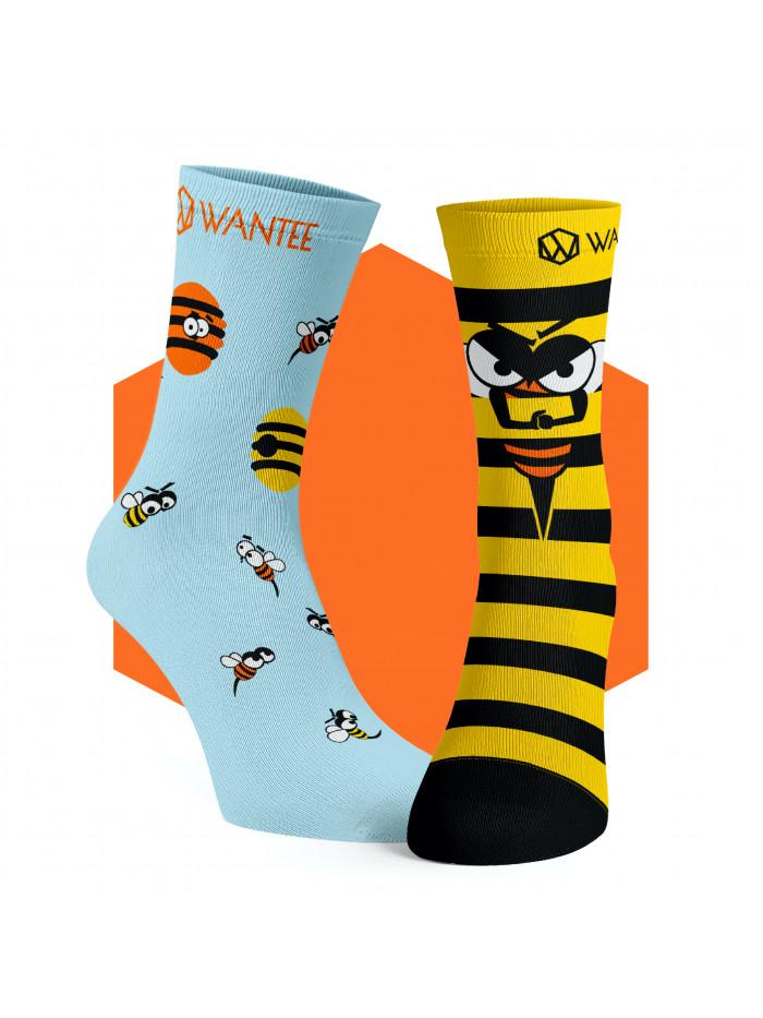 Ponožky Rozzlobené včely Wantee