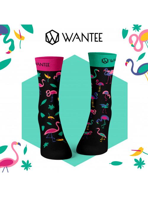Ponožky Plameňáci Wantee