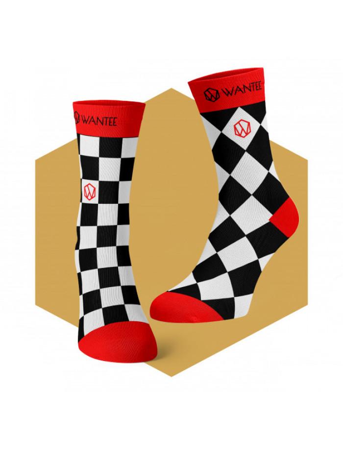 Ponožky Šachovnice Života Wantee