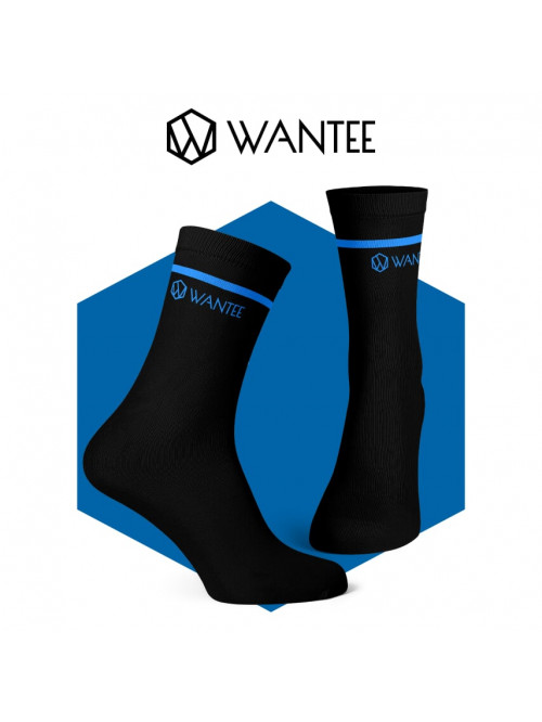 Ponožky Basic Black and Blue Wantee