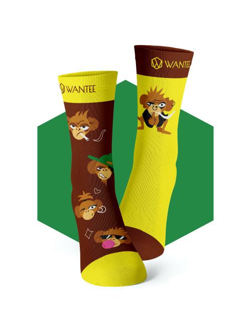Ponožky Drzé Opice Wantee