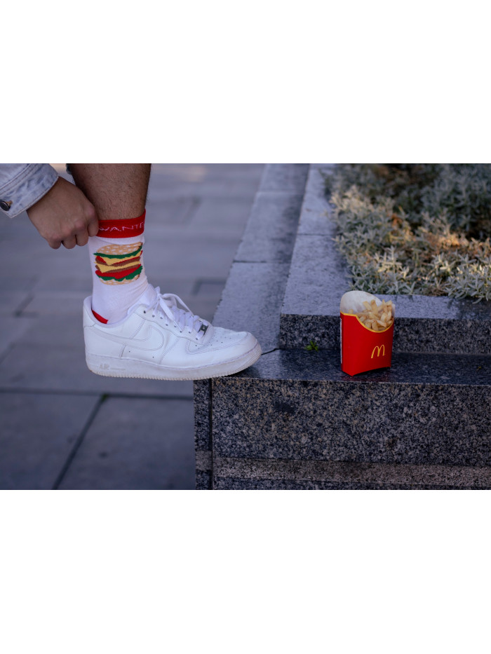 Ponožky Hamburger a Hranolky Wantee