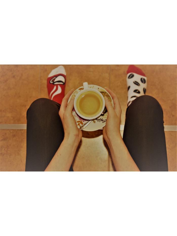 Ponožky Kafíčko Wantee