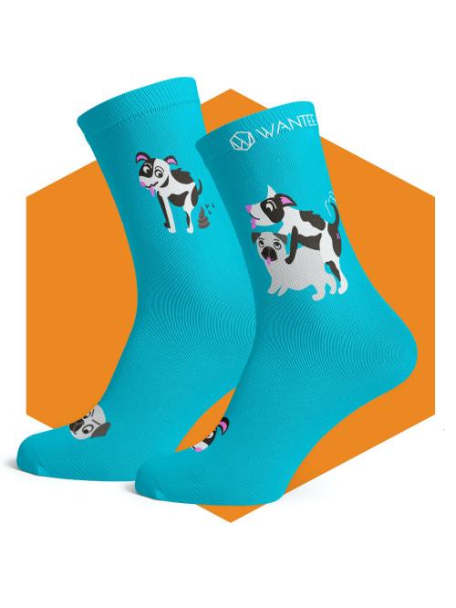 Ponožky Zlobivé Pejsky Wantee