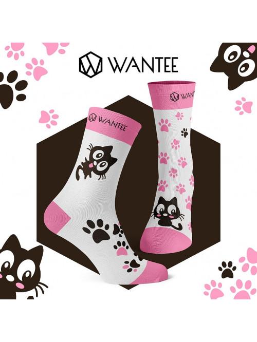 Ponožky Roztomilé Kočičky Wantee