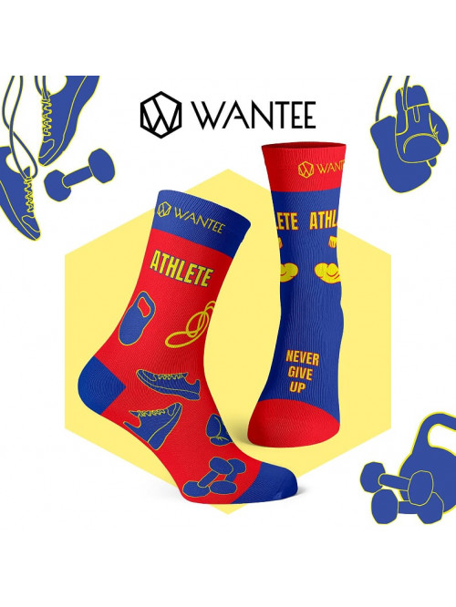 Ponožky Super Athlete Socks Wantee